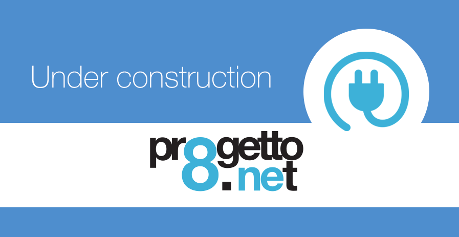 under construction Progetto8